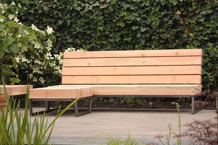 Bent u op zoek naar een unieke design loungebank voor in uw tuin, op maat, robuust en met een uniek design? Omgeving Breda, Tilburg,