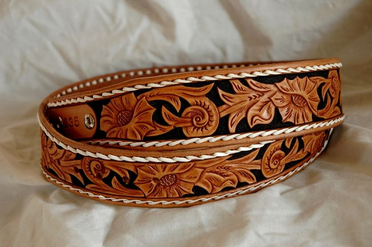 Custom leather belts - handmade custom leather belt - western custom leather…