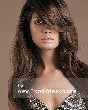 ROYSTON BLYTHE Braun Lange weiblich Gerade Frauen Frisuren hairstyles