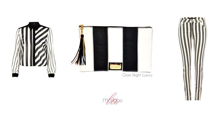 Glam Night Luxury Black & White limited edition  www.la-monique.com