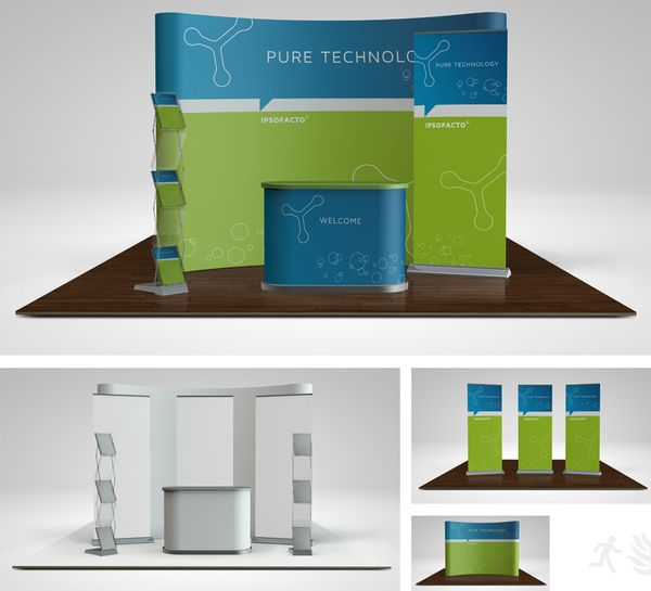 Exhibition Booth Banners : Images about trade show booths on pinterest