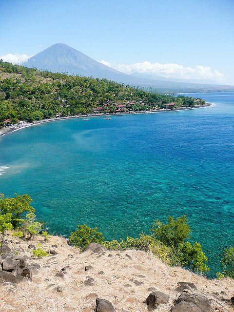 Amed beach -BALI - Indonesia, by rmaltete, via Flickr