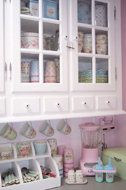 1736 Best Shabby Chic Kitchens Images On Pinterest