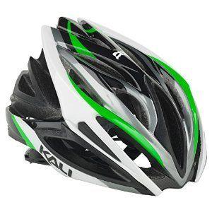 Kali Protectives Phenom Helmet Wave Black/Green M/L