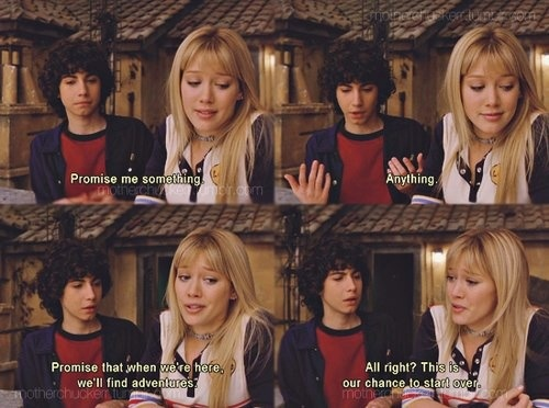 Lizzie McGuire Movie <3! Always wanted her and Gordo to be together!!!