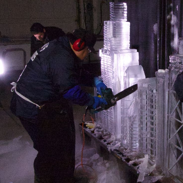 Behind the Scenes on Pinterest | Ice Sculptures and Scene