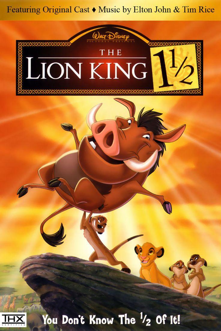 The Lion King 1 1/2 (Disney, DVD)