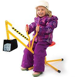 Super Snow and Sand Digger! Get it!: http://www.mastermindtoys.com/Alex-Super-Sand-Digger-Ride-On.aspx