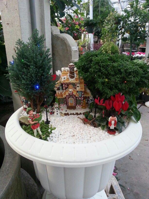 Fairy garden 20 best Christmas Fairy Gardens