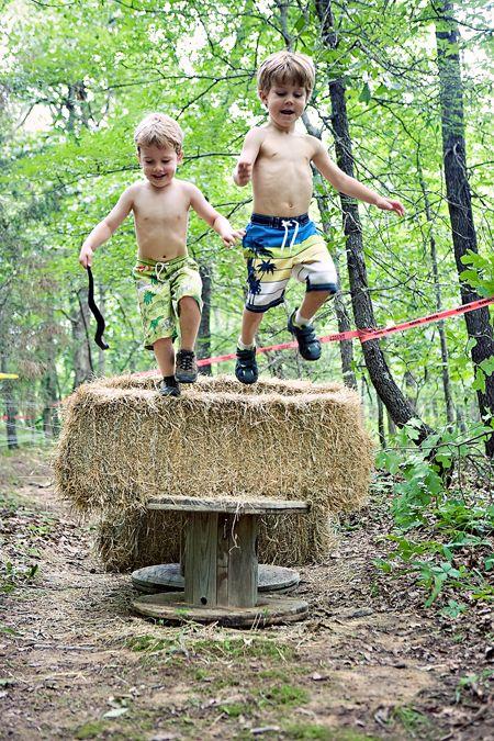 mud run/obstacle course party idea...so fun!