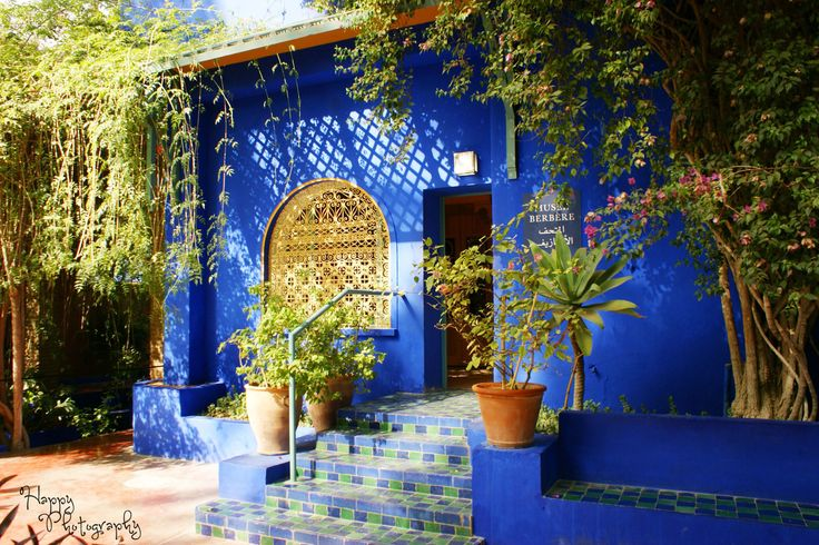 Blue Majorelle by Happy Photography on 500px
