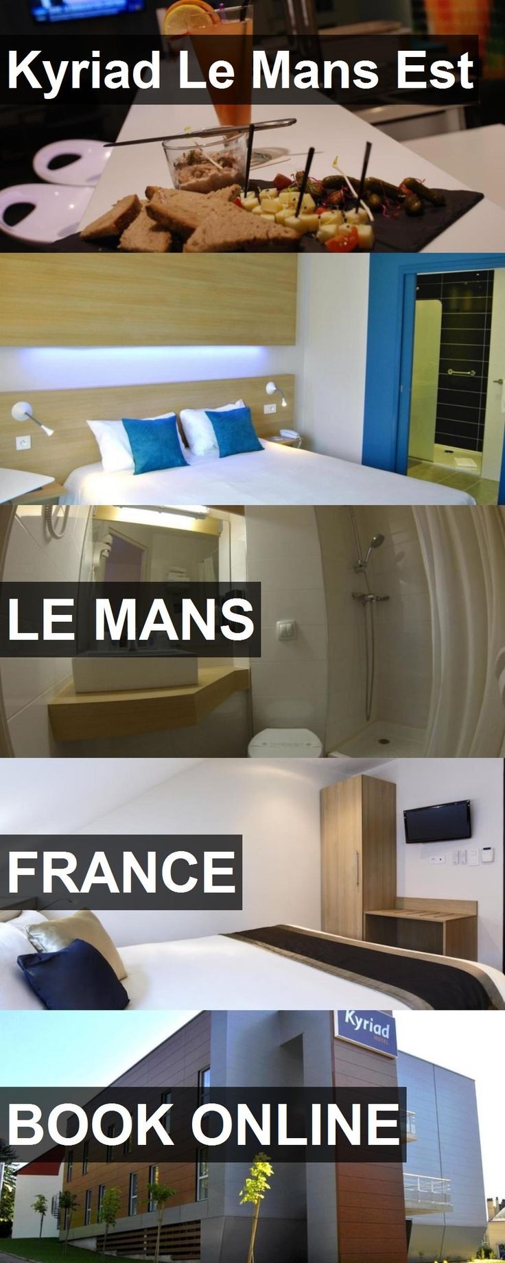 Hotel Kyriad Le Mans Est in Le Mans, France. For more information, photos, reviews and best prices please follow the link. #France #LeMans #travel #vacation #hotel