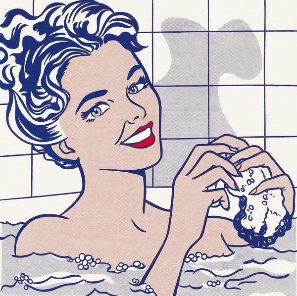 Roy Lichtenstein, Woman in Bath, 1963