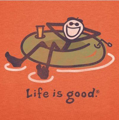 Life is good Rafting