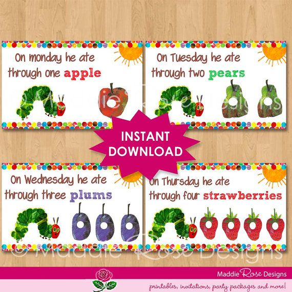 127 best images about hungry caterpillar party – Very Hungry Caterpillar Party Invitations