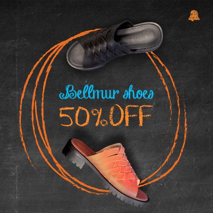 #SALE Countdown #Verano16    ¡Se acerca el final del SALE 50% OFF en todos los #BellmurShoes de esta temporada!   - Sandalias Leather // ZBELL129   ¿Ya nos visitaste en nuestro local de Montevideo Shopping?