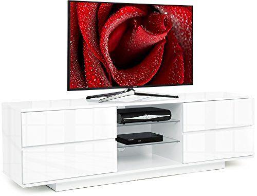 """Centurion Avitus Gloss White with 4-White Drawers & 3-Shelf 32""""-65"""" LED/ LCD / Plasma Cabinet TV Stand Centurion Supports http://www.amazon.co.uk/dp/B00R3C5DV4/ref=cm_sw_r_pi_dp_tkwTvb1G6YS3Z"""