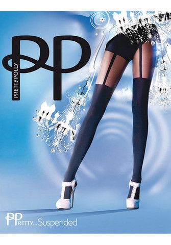 Suspender Tights By Pretty Polly