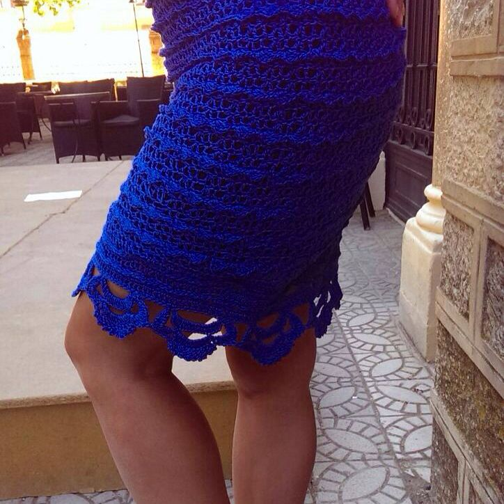 Gorgeous summer look. My favorite crochet skirt. #AsyaKlimina #Klimina #KLMN #Asya_Klimina #Accessories #knitting #crochet #Skirt #handemade #summer_skirt #women #knit #summer_accessories #knitted_skirt #crochet_skirt  #blue_skirt #fashion_accessories  #вязаниеназаказ #юбка #крючок #лето #испания #falda #ganchillo #Asya_Klimina #encargo #KLMN_crochet #forGIRLS #spain #madrid #handemade