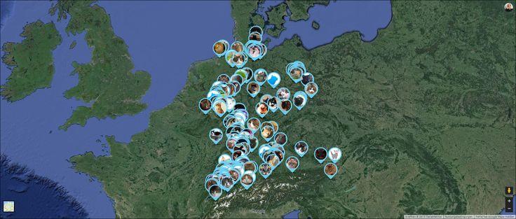 KADDZ GPS tracking collar population (April 2015)