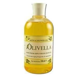 Olivella Bath & Shower Gel 16.9 oz. Original by Olivella. $13.53. Lightly scented Mediterranean Citrus Scent.. Dermatologically tested & hypoallergenic. Helps retain the skin's natural moisture. Free of dyes. Natural color from chlorophyll in Virgin Olive Oil. Made from 100% Virgin Olive Oil. Natural anti-aging and antioxidant properites
