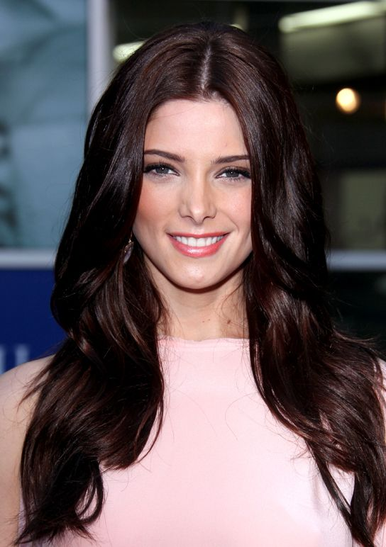 Ashley Greene dark hair