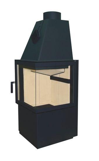 Wkład kominkowy Smart 2P - Hajduk #fireplace #fireside #modern #insert #piecyk #ogrzewanie kominek #nowoczesny