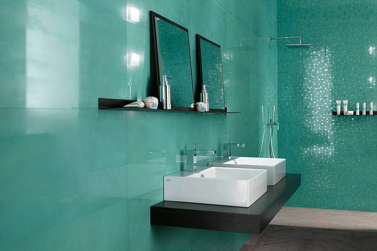 Sea Green Bathroom