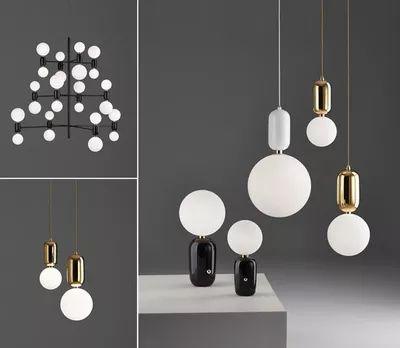 Персонализированные ресторан одноголовочный лампа стильный минималистский современный неоклассическая люстры Дизайнер Гостиная Столовая Освещение - Taobao