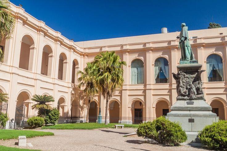 Museo Histórico - UNC Manzana Jesuítica, Cordoba, Argentina-The Courtyard of Museo Histórico UNC – Manzana Jesuítica (Matyas Rehak / Shutterstock.com)