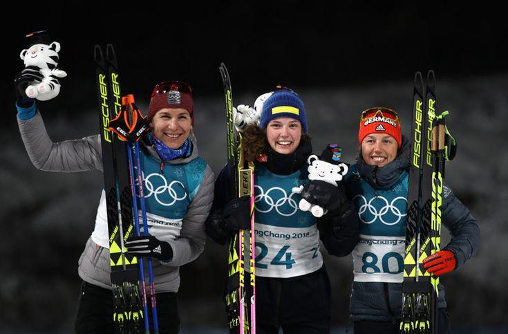 ZOH 2018 v Pjongčangu ( Kórejská republika ) - 2. Anastasia Kuzmina - vytrvalostné preteky žien na 15 km
