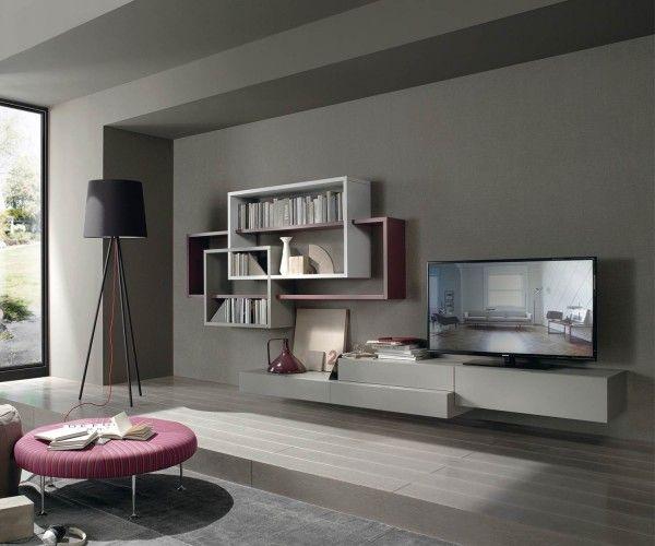 Wohnwand hängend modern schwarz  Die besten 20+ Lowboard hängend Ideen auf Pinterest | Tv lowboard ...