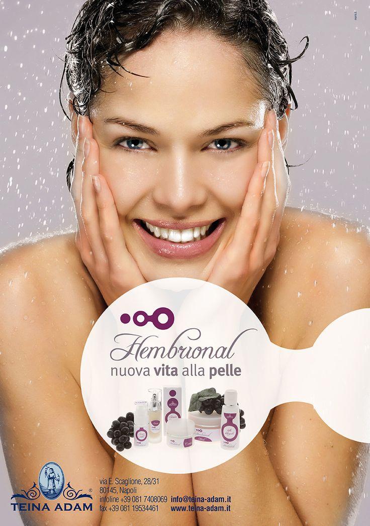 Hembrional | nuova vita alla pelle dalle cellule staminali dell'uva. www.teina-adam.it