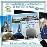 Sign Up for Our 2017 Disney Vacation Package Watch List