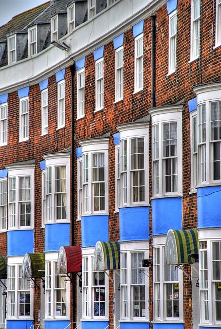 Devonshire Buildings, Weymouth Esplanade
