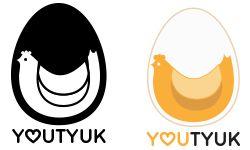 youtyuk logo egg logo
