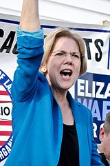 Elizabeth Warren, U.S. Senator, former Harvard Law School professor.