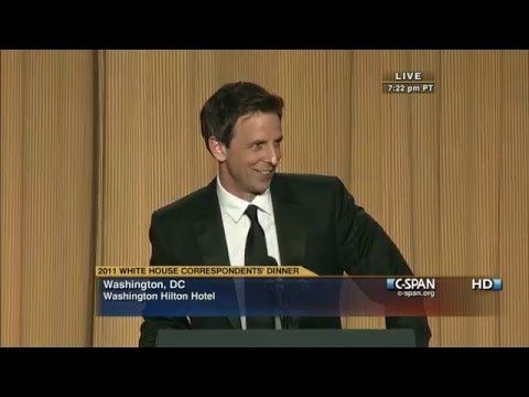 C-SPAN: Seth Meyers remarks at the 2011 White House Correspondents' Dinner - YouTube