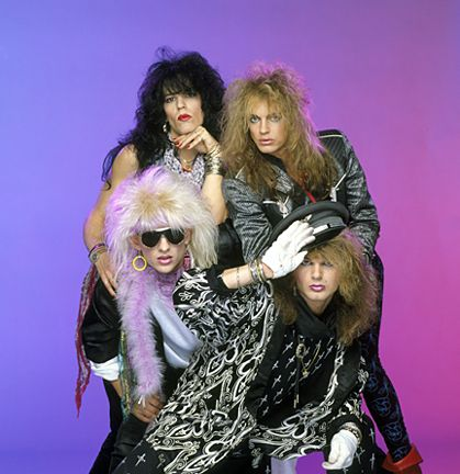 I love anything and everything about 80's hair bands :)