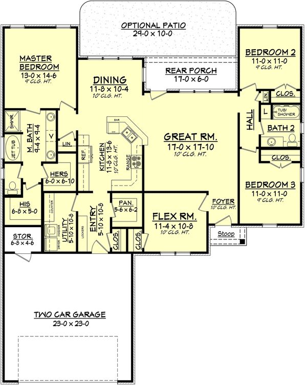 57 best house plans images on pinterest 3 4 beds floor for 80 sq ft bathroom designs