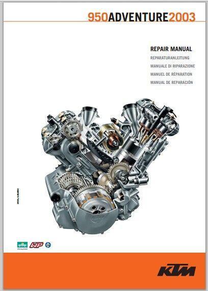 2003 KTM 950 Adventure repair manual pdf download
