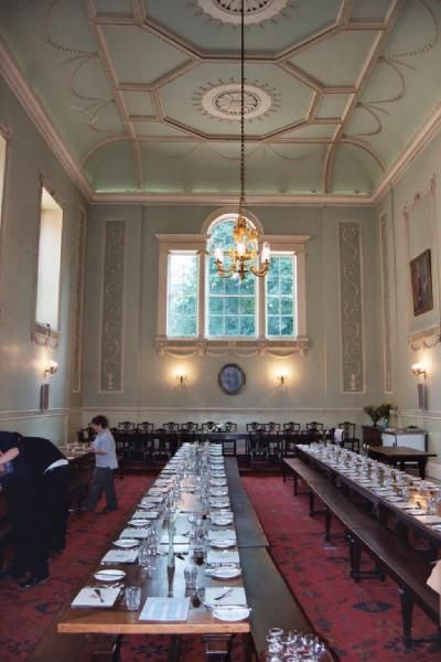 Dining Hall Worcester College Oxford
