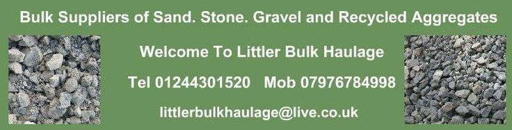 Littler Bulk Haulage - Bulk Aggregates - Limestone Chippings - Staffordshire Gravels - Welsh Gravel - Recycled Aggregates - Supplied Deliver...