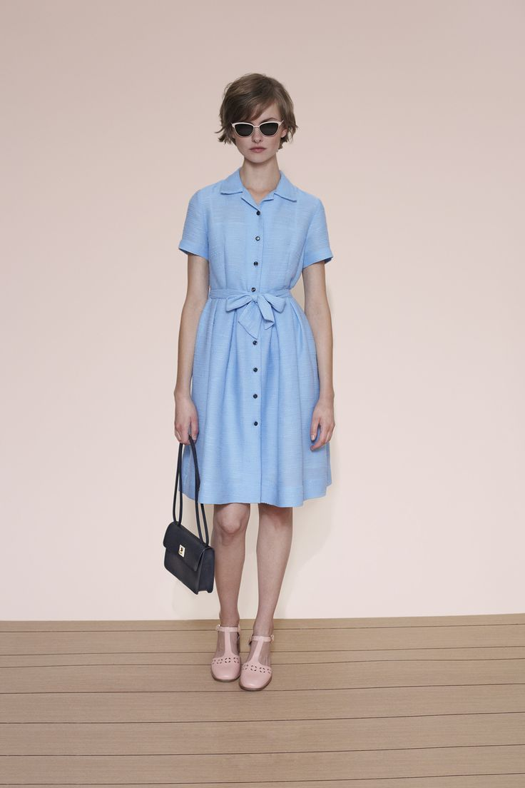 Orla Kiely spring 2015 lookbook #dress