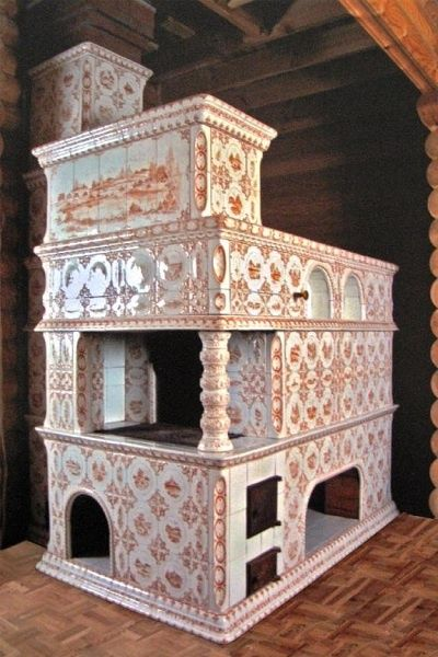 Another fantastic stove bed, Russia