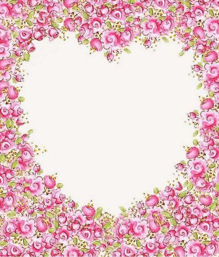 papeles de fondo - Maribel - Picasa Web Albums - floral heart frame