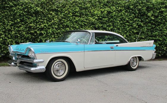 1000 images about fins wings and bubble tops on for 1957 dodge 2 door hardtop
