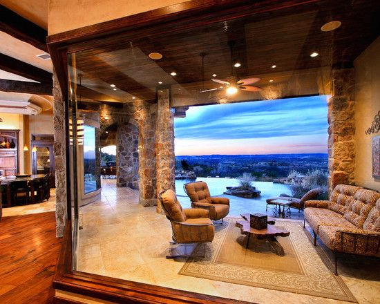 Texas Hill Country Home Designs Eclectic Terrace