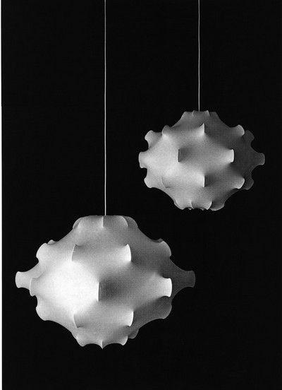 Lampade in cocoon - Achille e Pier Giacomo Castiglioni - 1960