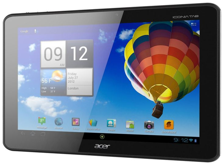 Acer Iconia A510-10k32u 10.1-Inch Tablet (Olympic Edition-Black). Android 4.0 Ice Cream Sandwich. 1 GB SDRAM. 10.1-inch screen. 13 hour battery life. 802.11bgn wireless.